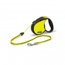 Flexi Neon Reflective Small Black & Neon Tape 5m