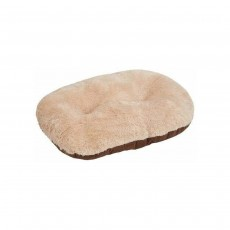 "Gor Pets Nordic Oval Cushion for Dogs - Brown, 36"" / 91 cm"