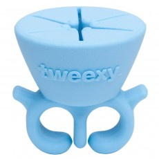 tweexy - The Original Wearable Nail Polish and Varnish Holder - Island Blue