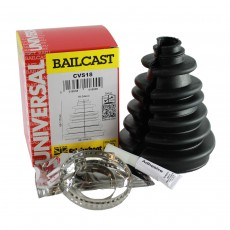 Bailcast Universal Split CV Joint Gaiter Boot Replacement Kit - Black