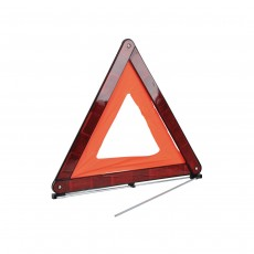 Simply Foldable Reflective Warning Triangle