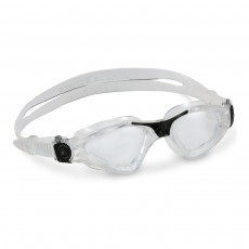 Aqua Sphere Men's Kayenne Goggles Clear/Black/Clear