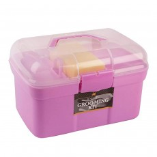 Lincoln Grooming Kit, Pink