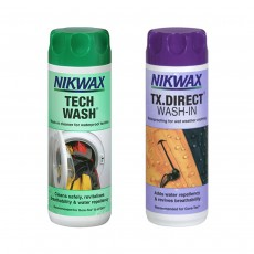 Nikwax Tech Wash & TX.Direct Wash-In Twin