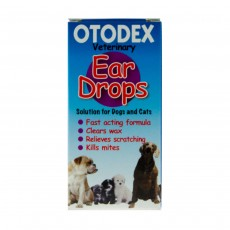OTODEX VETERINARY EAR DROPS MITES FOR DOGS AND CATS