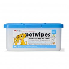 Petkin Dirt and Odour Wipes Pack of 100