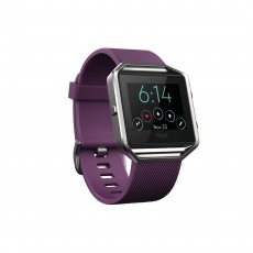 Fitbit Blaze Smart Fitness Watch - Plum, Large