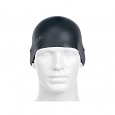 Speedo Moulded Silicone Caps SNR Black