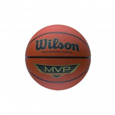 Wilson MVP Outdoor Basketball - Brown, Size 5