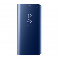 Samsung Clear View Case for Galaxy S8 Plus - Blue