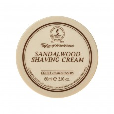 Taylor of Old Bond Street Sandalwood Shaving Cream Bowl 60ml