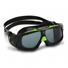 Aqua Sphere Men's Seal 2.0 Goggles Black/Green/Tint