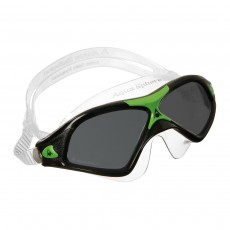 Aqua Sphere Men's SEAL XP2 Black/Green/Clear