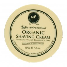 Taylor of Old Bond Street Organic Shaving Cream Bowl 150 g