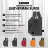 Clip & Carry Kydex Multitool Sheath in Black for Leatherman Surge