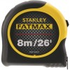 Stanley Tools FatMax® BladeArmor® Tape with Metric & Imperial Grade - 8m / 26ft