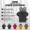 Clip & Carry Kydex Multitool Sheath in Black for Gerber Suspension