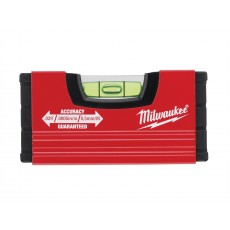 Milwaukee Hand Tools Minibox Level - Aluminium - Shockproof - 10cm