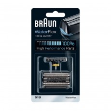 Braun Shaver Replacement Part 51B, Compatible with WaterFlex Shavers - Black