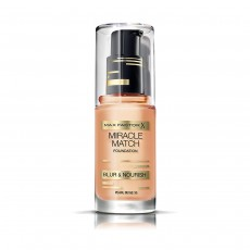 Max Factor Miracle Match Foundation 35 Pearl Beige 30ml