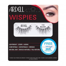 Ardell Wispies Lashes Black With Duo Glue