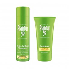 Plantur 39 Coloured and Stressed Hair Phyto Caffeine Shampoo 250ml & Conditioner - 150 ml