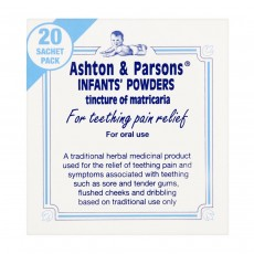 Ashton & Parsons Infants Teething Pain Relief Powder 20's