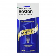 Bausch & Lomb Boston Simplus Multi Action Solution For Rgp Lenses -120ml