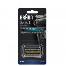 Braun Replacement Head 92B Compatible with Series 9 Shavers and Cassette Cartridge - Black