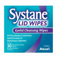 Systane Pre- Moistened Eyelid Cleansing Wipes - 30 Count