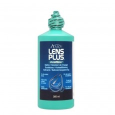 Lens Plus OcuPure Purite Saline for All Contact Lens - 360ml