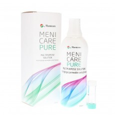 Menicare Pure Multipurpose Solution for all Gas Permeable Contact Lenses - 250ml