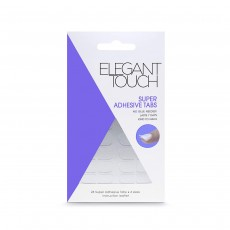 Elegant Touch Super Adhesive Tabs Nail Care Tools No Glue Needed
