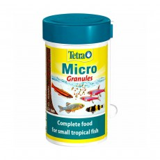 Tetra Micro Granules Complete Food For Small Tropical Fish - 100ml
