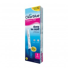 Clearblue Visual Fast & Easy Pregnantcy Test Results In 2 Minutes - 1 Count