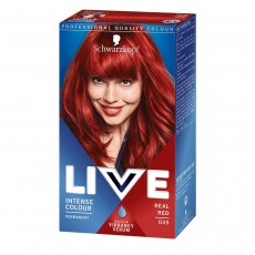 Schwarzkopf Live XXL Colour Intense Permanent Coloration, 35 Real Red