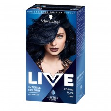 Schwarzkopf Live XXL Colour Intense Permanent Coloration 90, Cosmic Blue