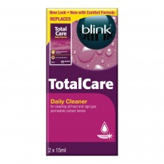 Total Care Care Products-Gas Permeable & Hard Lens Daily Cleaner - 30ml