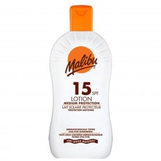 Malibu Protective Sun Lotion with SPF15 - 400 ml