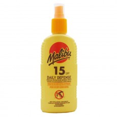 Malibu Daily Defense Spray SPF15 Insect Repellent - 200ml