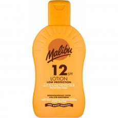 Malibu Protective Sun Lotion SPF12 Water Resistant - 200 ml