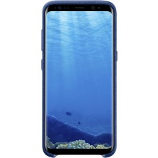 Samsung Original S8 Alcantara Back Phone Case Cover, Blue