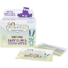 Jack N Jill Natural Baby Tooth and Gum Wipes