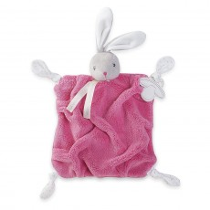 Kaloo Plume Doudou Rabbit Raspberry Security Blanket