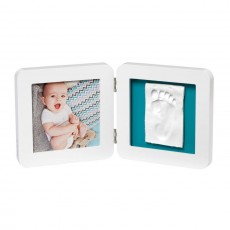 Baby Art My Baby Touch Single Print White Frame