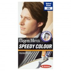 Bigen Speedy Permanent Hair Colour For Men - Natural Brown 104