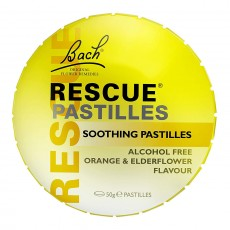 Rescue Remedy Pastilles Orange and Elderflower 50g