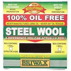 Briwax Steel Wool -  Oil Free Ensures a Consistent Degree of Abrasion