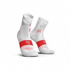 Compressport Pro Racing Socks V3.0 Ultralight Run Hi -  Smart White, T3