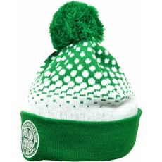 Celtic Football Club Official Licensed Fade Knitted Bobble Hat - One Size